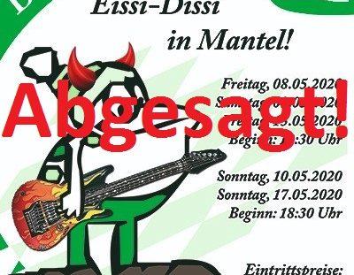 "Abgesagt: 2020: ""Eissi-Dissi in Mantel!"""
